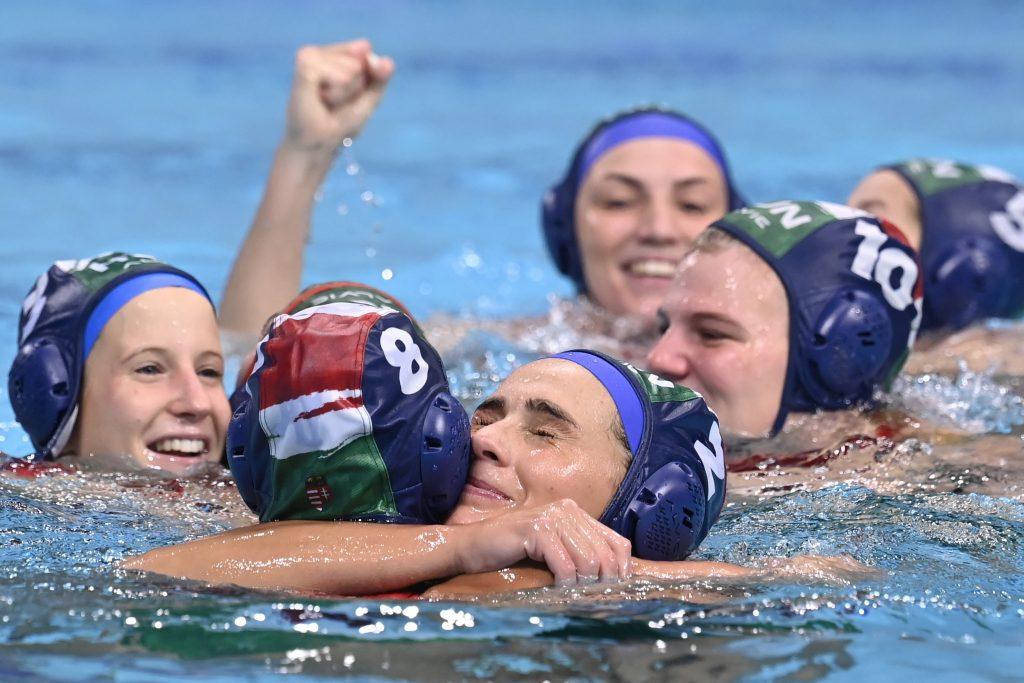 Tokio 2020: Ungarische Wasserballerinnen im Halbfinale! post's picture