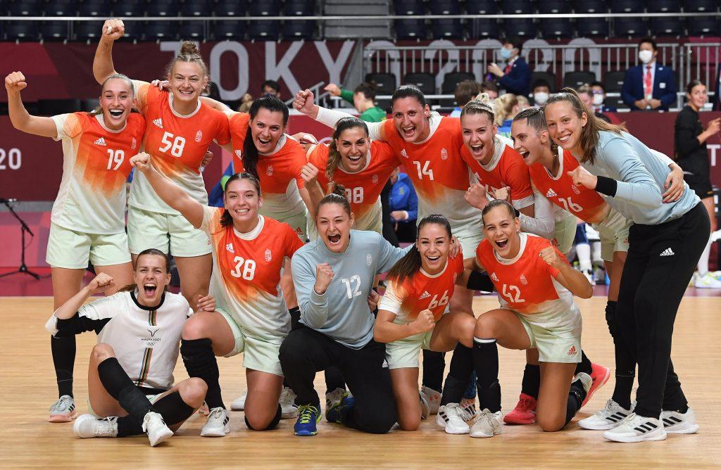 Tokio 2020: Ungarische Frauenhandball-Mannschaft im Viertelfinale! post's picture