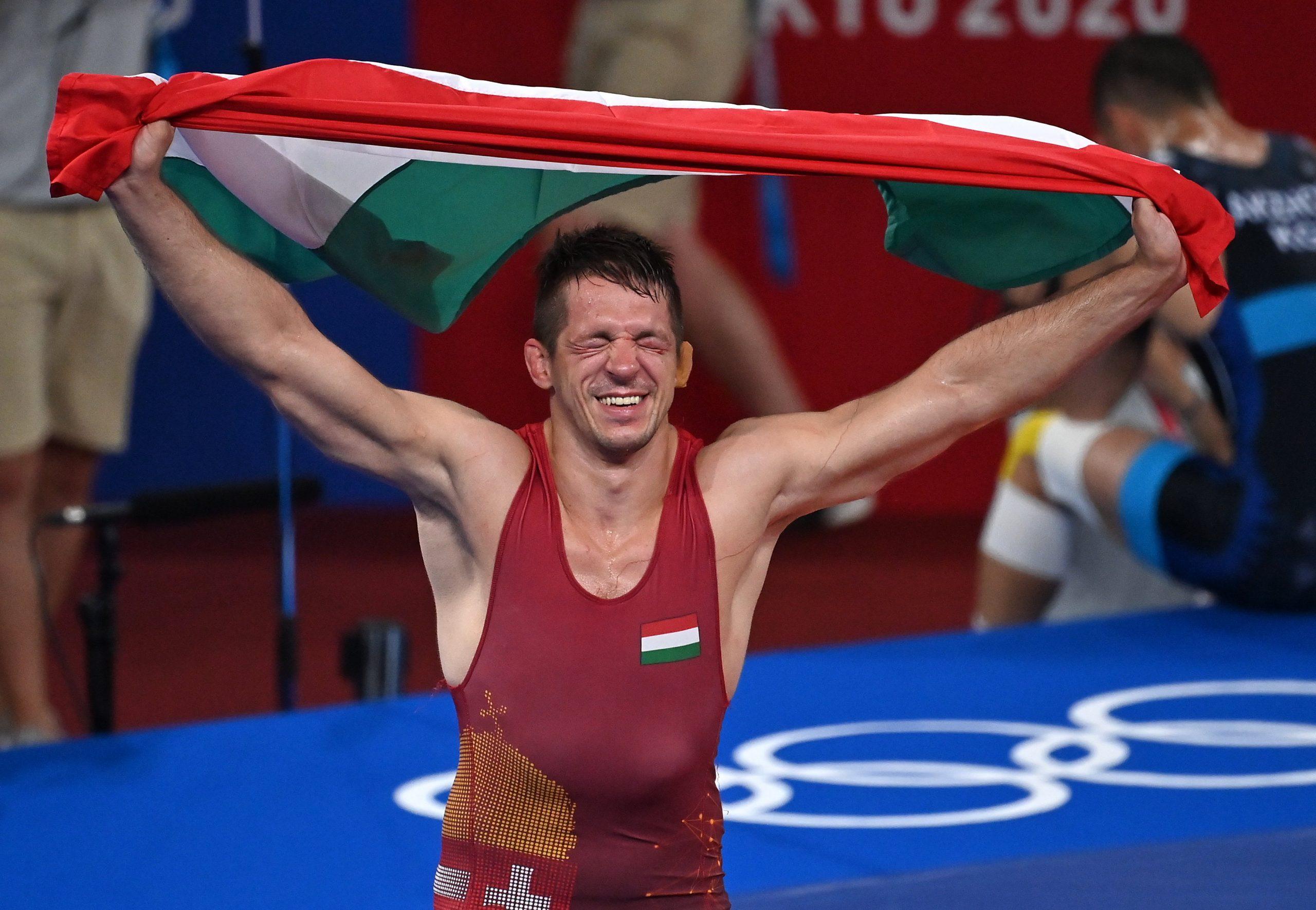 Tokio 2020: Tamás Lőrincz Olympiasieger im Ringen!