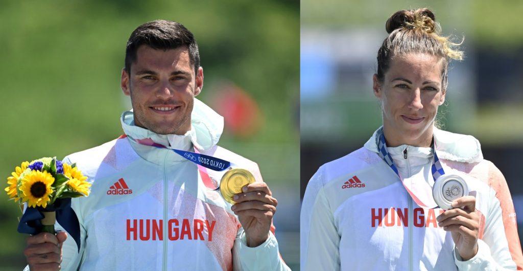 Tokio 2020: Gold und Silber im Kajak-Einer für Ungarn! post's picture