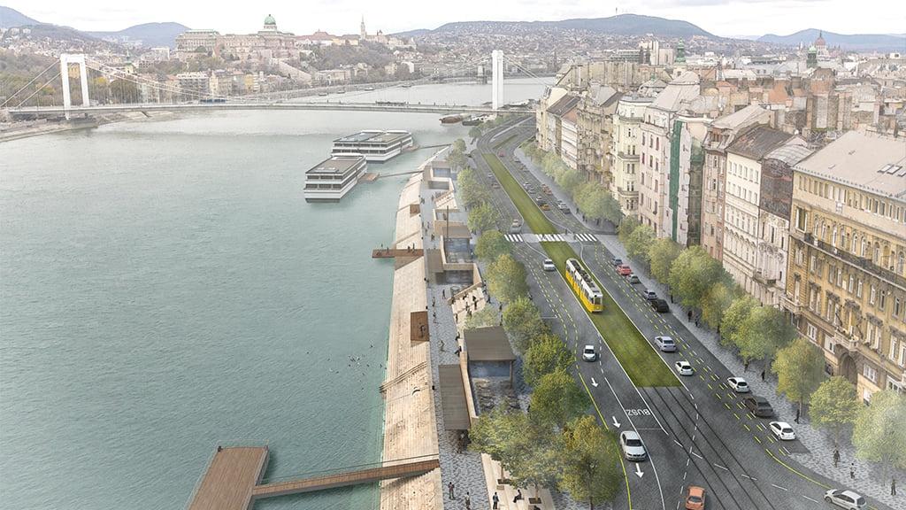 Vertrag zur Neugestaltung des Donauufers unterzeichnet post's picture