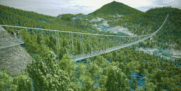 Längste Hängebrücke der Welt in Ungarn gebaut? – FOTOS! post's picture