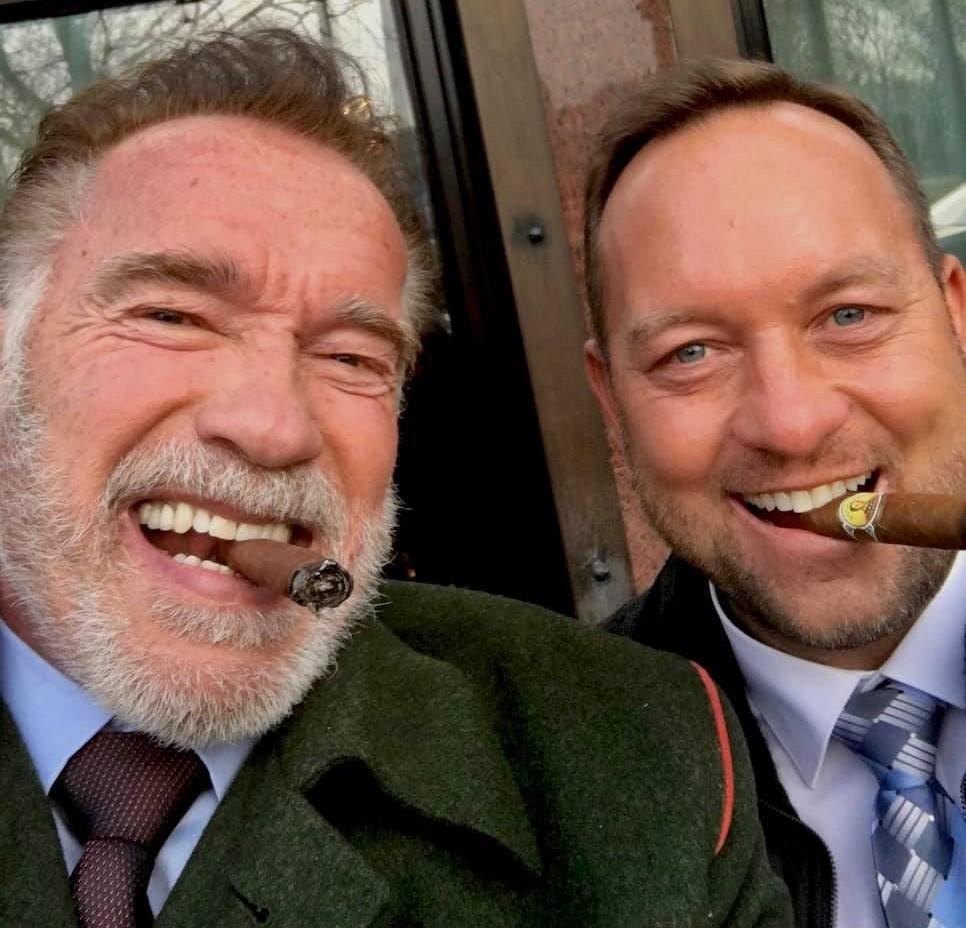 Hätten Sie gedacht, dass Schwarzenegger aus diesem Grund in Budapest ist? post's picture