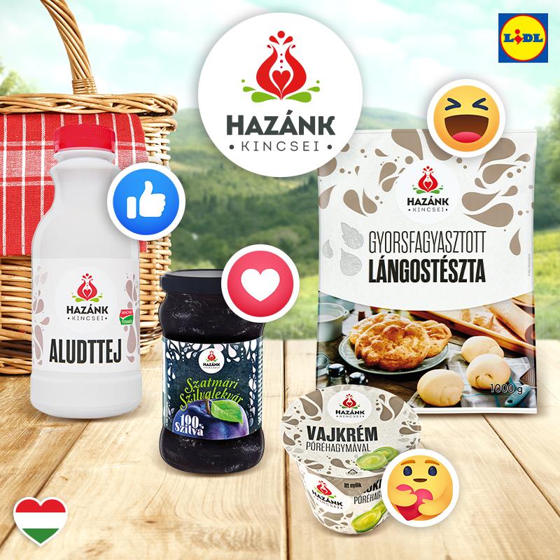 Lidl unterstützt ungarische Produkte mit neuem Markenzeichen post's picture