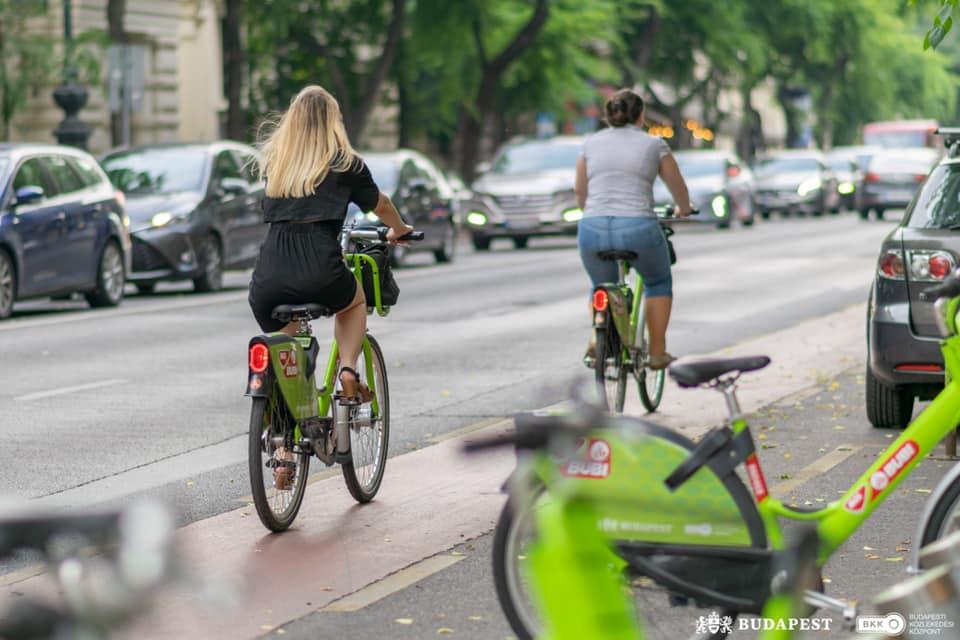 Rekordfahrerzahlen bei MOL Bubi Bike-Sharing in Budapest post's picture