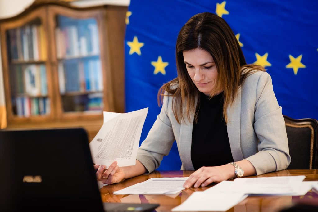 """Justizministerin: """"Immer mehr Europäer folgen der ungarischen Migrationspolitik"""" post's picture"""
