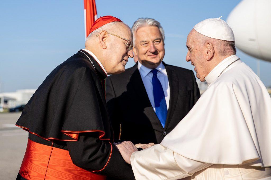 """Kardinal Erdő über Papstbesuch: """"Es hat alle unsere Erwartungen übertroffen"""" post's picture"""