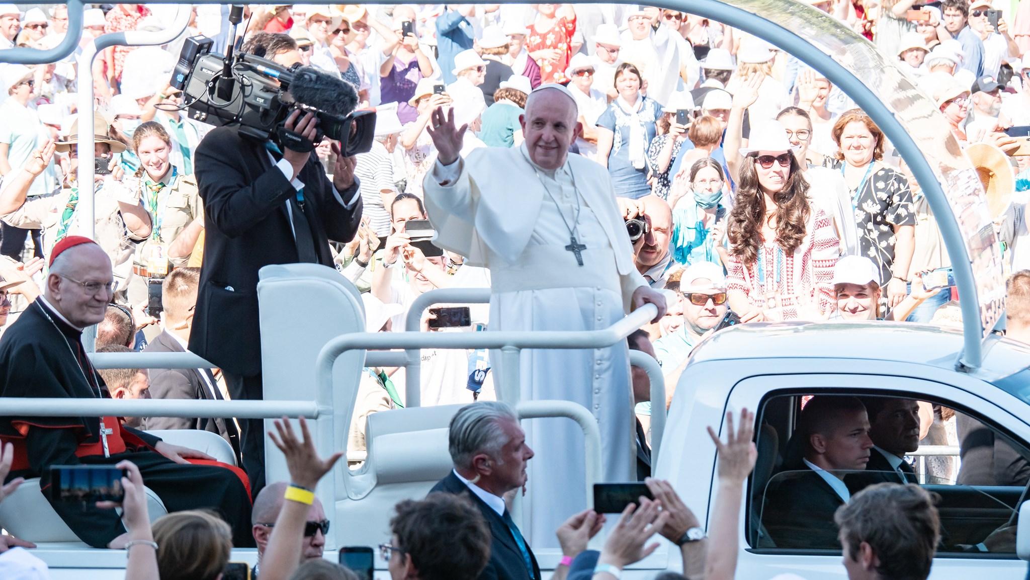 Franziskus in Budapest - Die besten Bilder vom Papstbesuch!