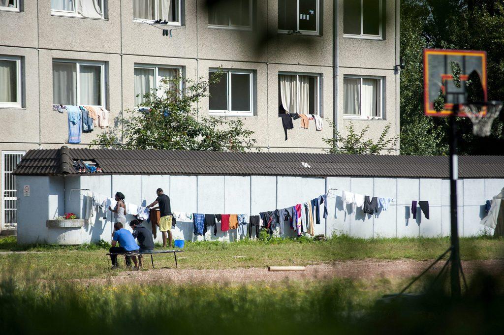 Mehr als hundert afghanische Flüchtlinge zogen ins Lager von Vámosszabadi ein post's picture