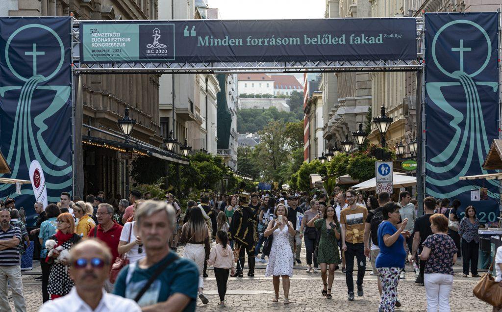 Eucharistischer Weltkongress: Verstärkte Polizeipräsenz in Budapest post's picture