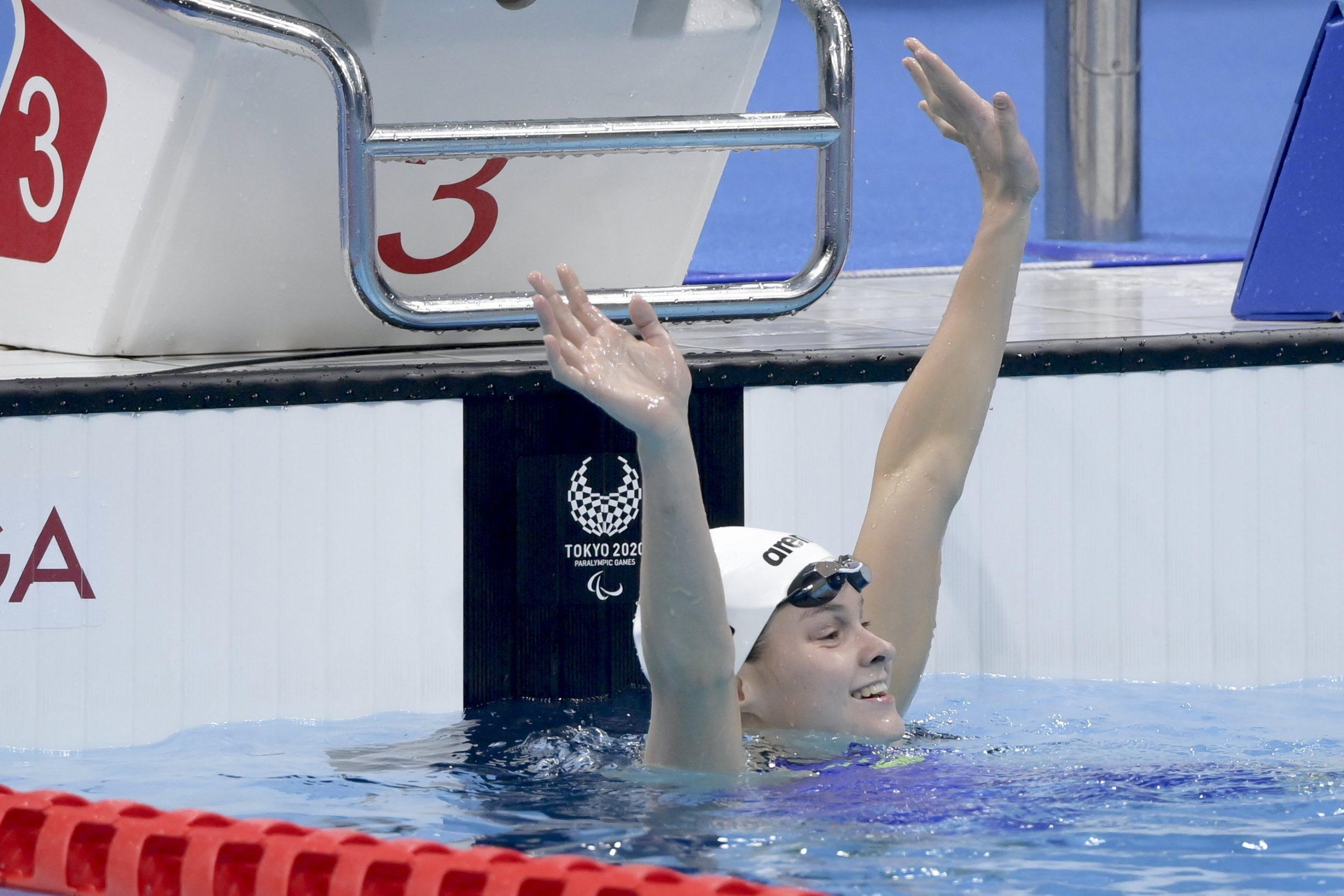 Paralympics: Schwimmerin Bianka Pap holt Silbermedaille