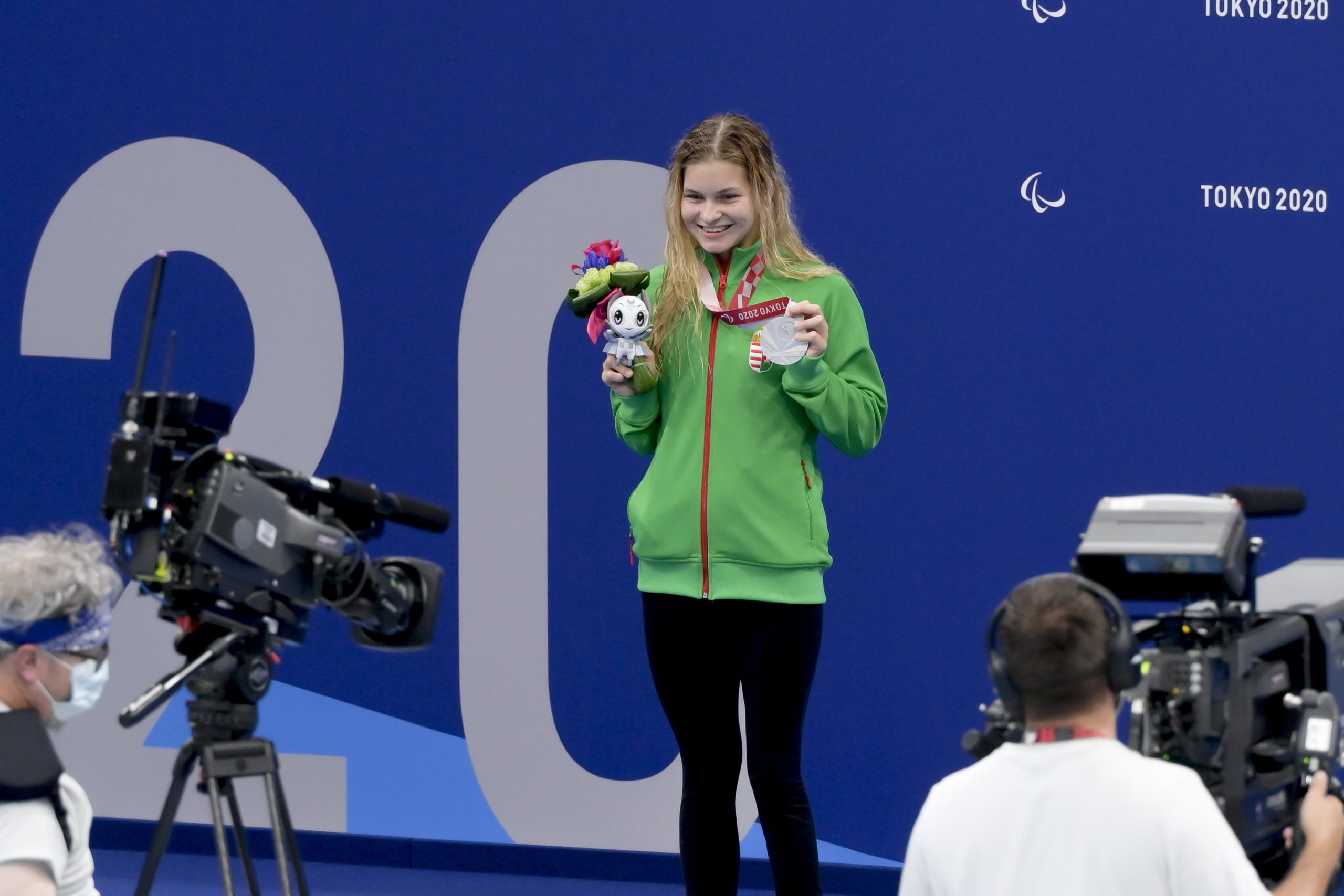 Paralympics: Bianka Pap holt Silber im 200 Meter Lagenschwimmen