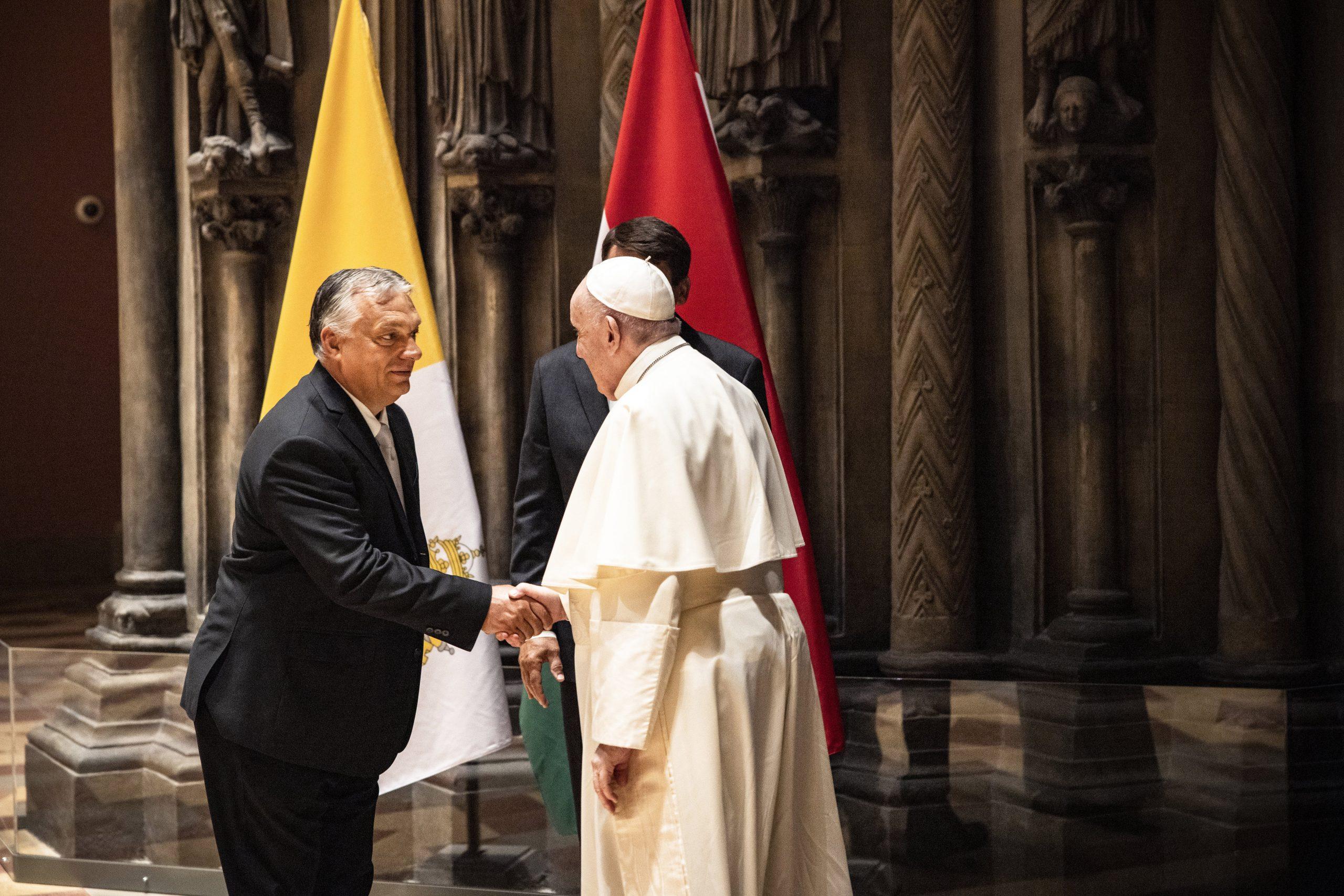 Orbán bat Franziskus, das christliche Ungarn nicht verloren gehen zu lassen