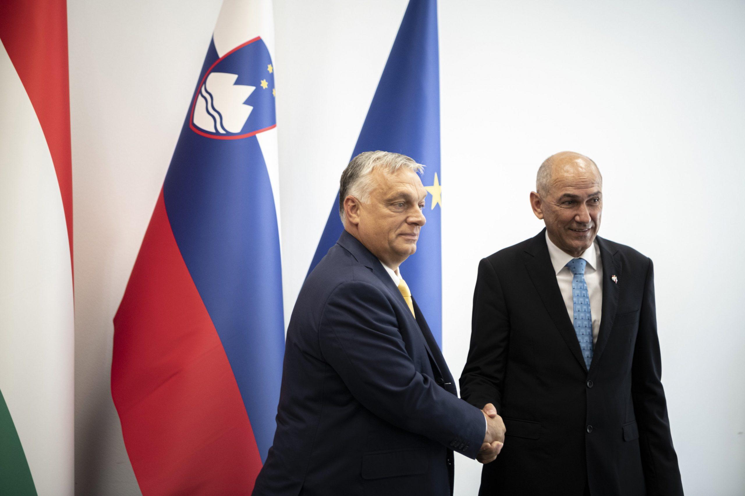 Orbán in Slowenien: