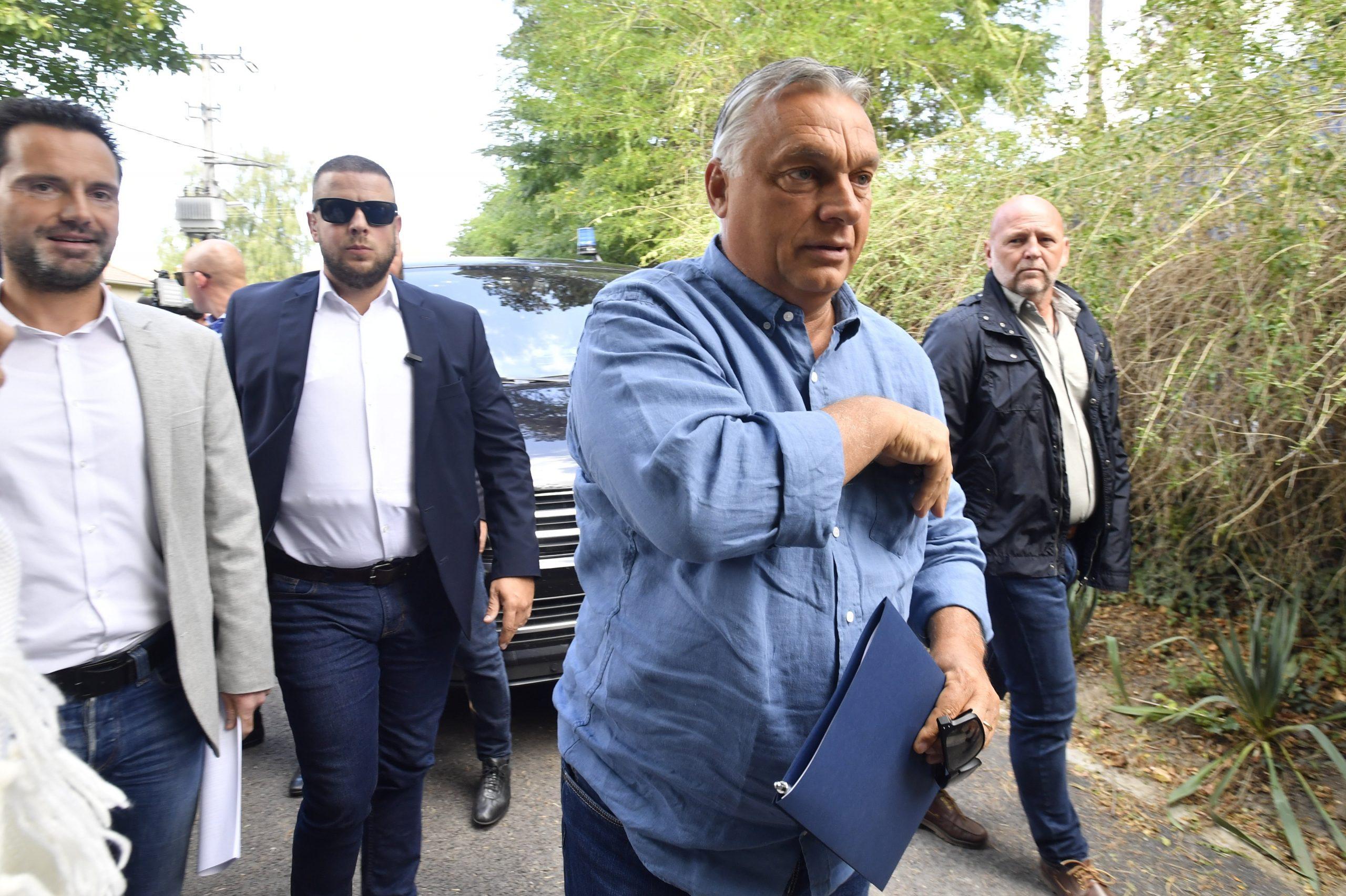 Orbán: Ungarn ist ein sicherer Punkt in dieser unsicheren Welt