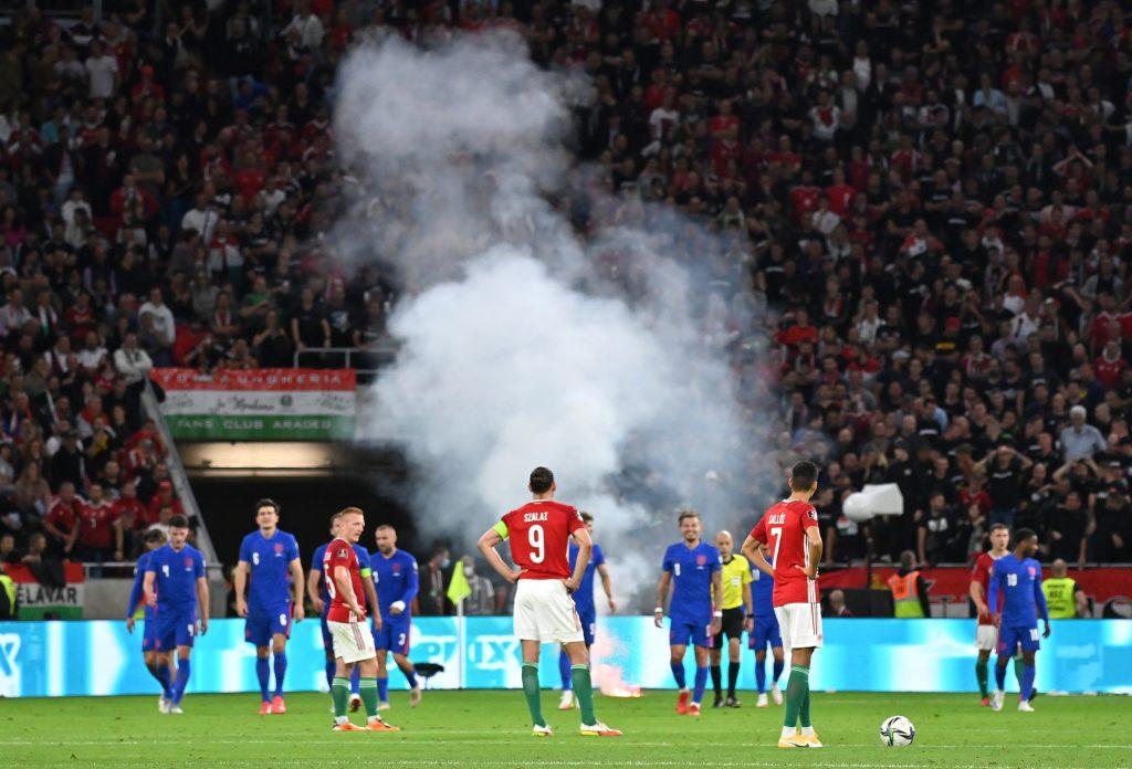 BUDAPOST: Empörung über offenbaren Rassismus während des Spiels Ungarn-England post's picture