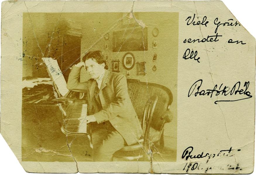 Besondere, wertvolle Briefe dem Bartók-Archiv hinzugefügt post's picture