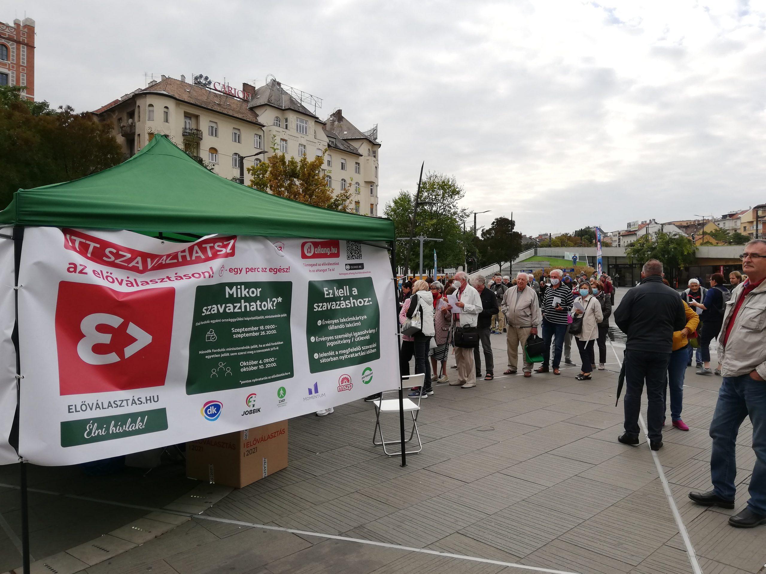 BUDAPOST: IT-Probleme: Vorwahl der Opposition ausgesetzt