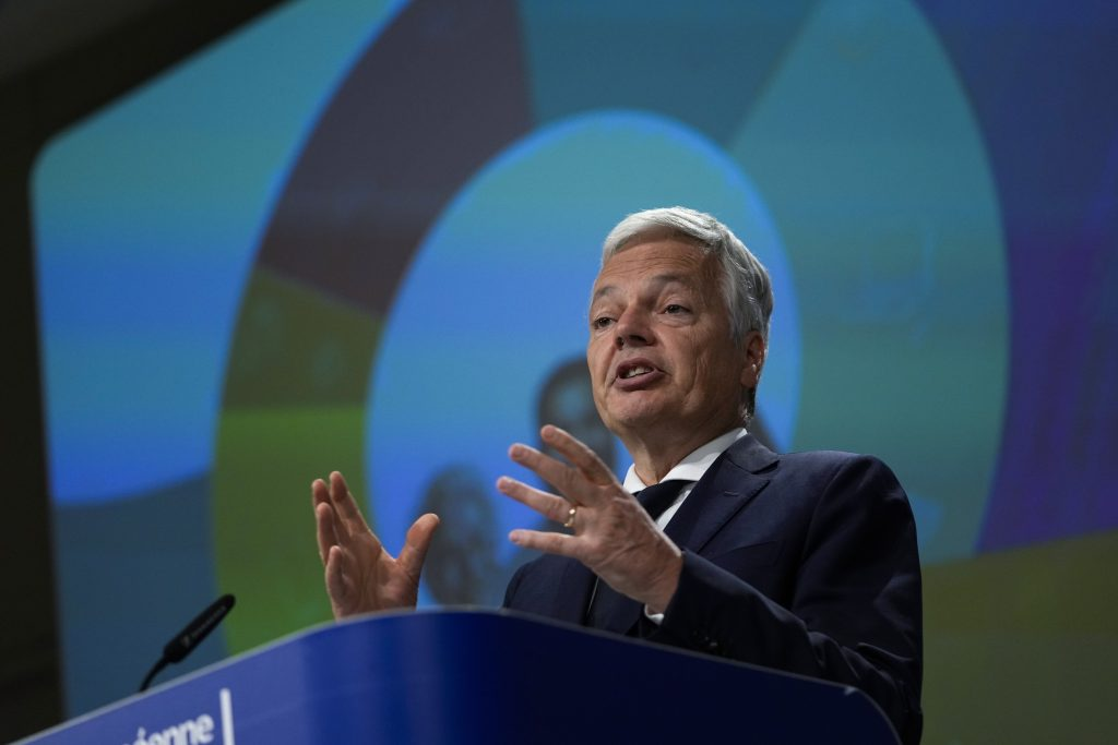 """Didier Reynders: """"Es gibt ernsthafte Probleme mit der Medienfreiheit und der systemischen Korruption in Ungarn"""" post's picture"""