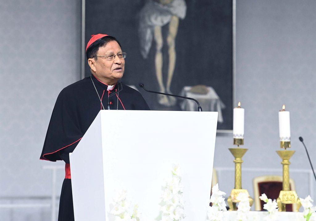"""Kardinal Bo aus Myanmar: """"Wer Geduld hat, verwandelt jede Herausforderung in eine lebensverändernde Chance"""" post's picture"""
