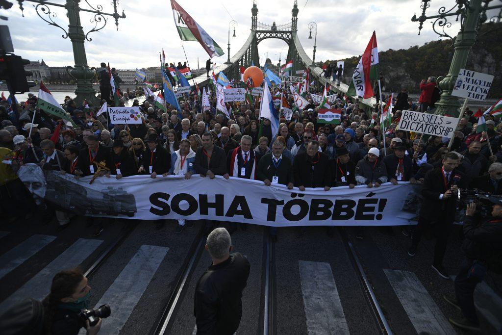 Friedensmarsch für Orbán und die ungarische Souveränität post's picture