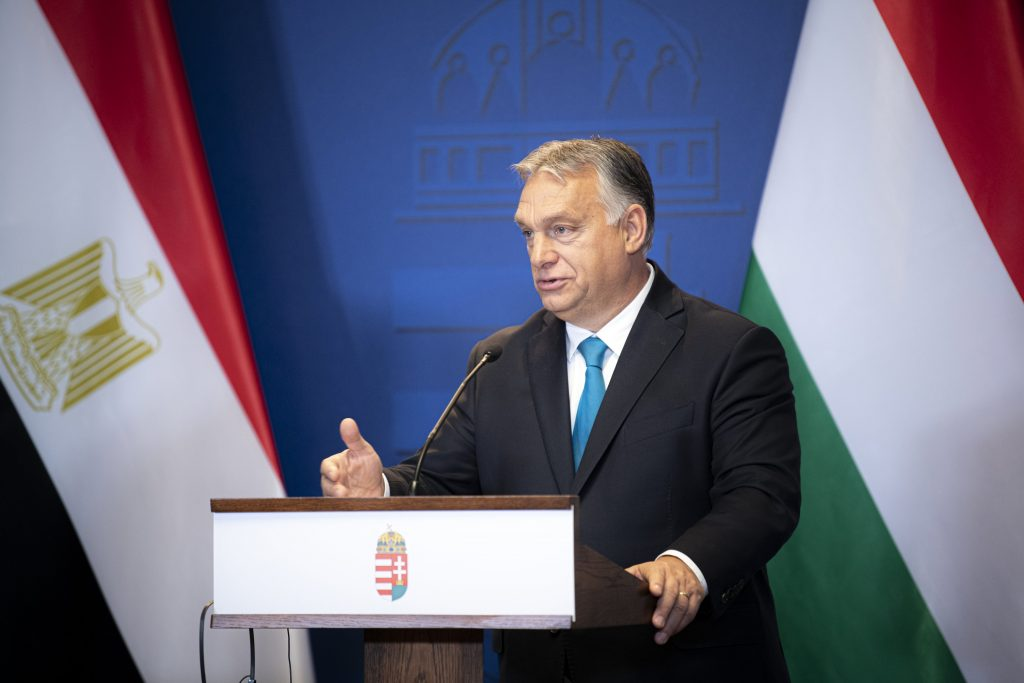 """Orbán: """"Berlins Sicherheit beginnt mit Ägyptens Grenzschutz"""" post's picture"""