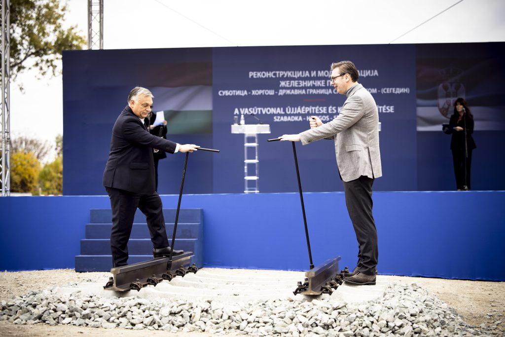 """Orbán in Serbien: """"Jetzt ist die Zeit gekommen, unser Schicksal selbst in die Hand zu nehmen"""" post's picture"""