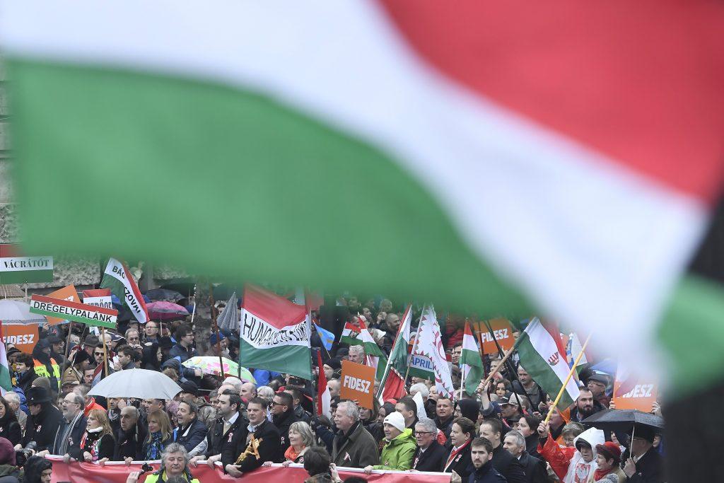 """Regierungsnahe Organisation: Friedensmarsch auf der """"Route des Gyurcsány-Terrors"""" post's picture"""